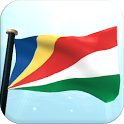 Seychelles Flag 3D Free icon