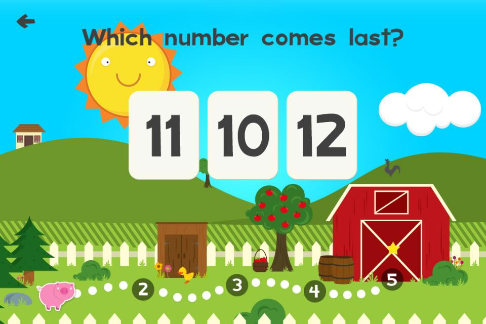 Animal Math Games for Kids XD- screenshot