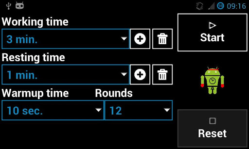 無料运动Appのボクシング/インターバルタイマ 記事Game