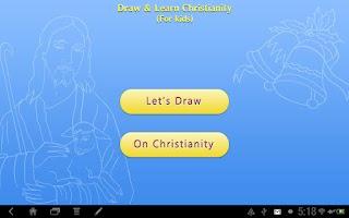 Screenshot of Draw & Learn Christianity