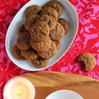 Gingerbread Cake Cookies.
