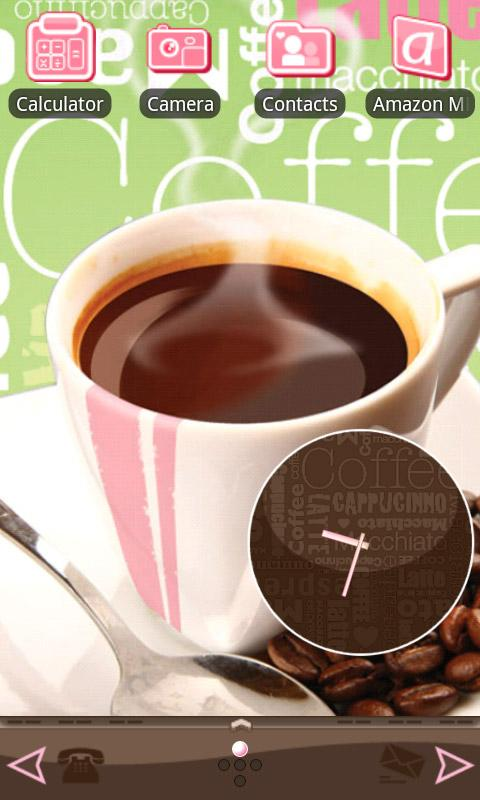 Morning Coffee Theme for Andro - screenshot