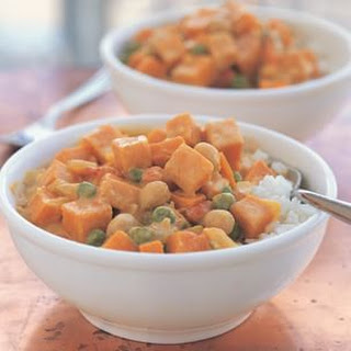 Chickpea and Sweet Potato Curry.