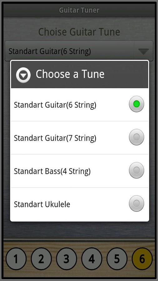 Full Guitar Tuner- screenshot