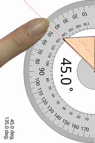 Smart Protractor - screenshot