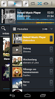 Screenshot of Select! Music Player Pro