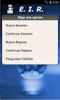 Screenshot of EIR