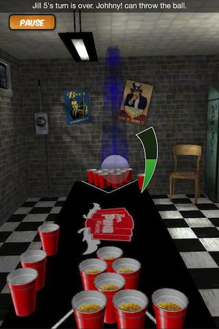 Beer Pong (Gen 1)- screenshot
