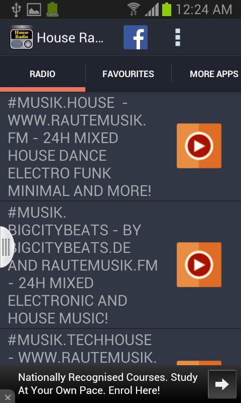 House Radio - screenshot