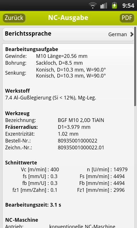 TPT mobile – Screenshot