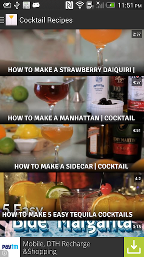 Cocktail Drink Recipes