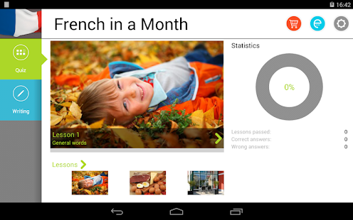 French in a Month Free - screenshot thumbnail