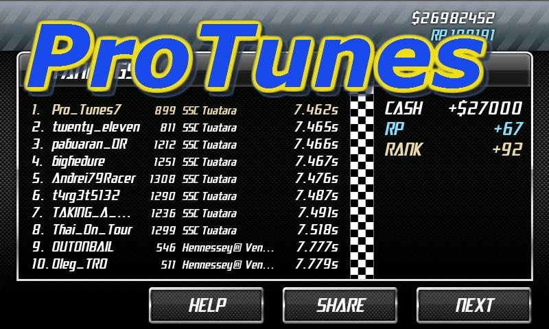 No Limit Drag Racing Tune