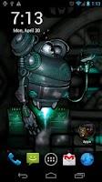 Screenshot of Robot Squad Live Wallpaper