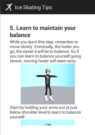 Ice Skating Tips for Beginners