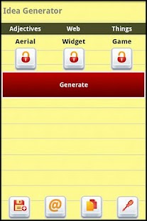 Idea Generator - screenshot thumbnail