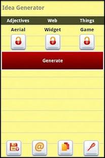 Idea Generator - screenshot thumbnail