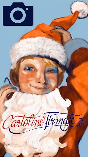 Cartoline di Natale Firmate