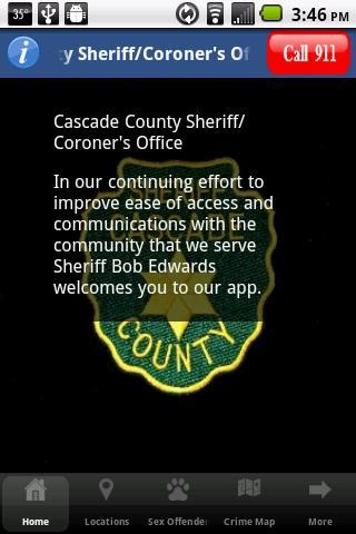 Cascade Cnty Sheriff Coroner's