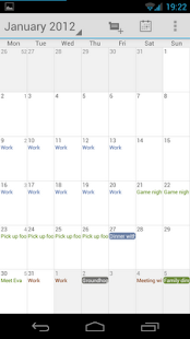 Calendar Droid- screenshot thumbnail