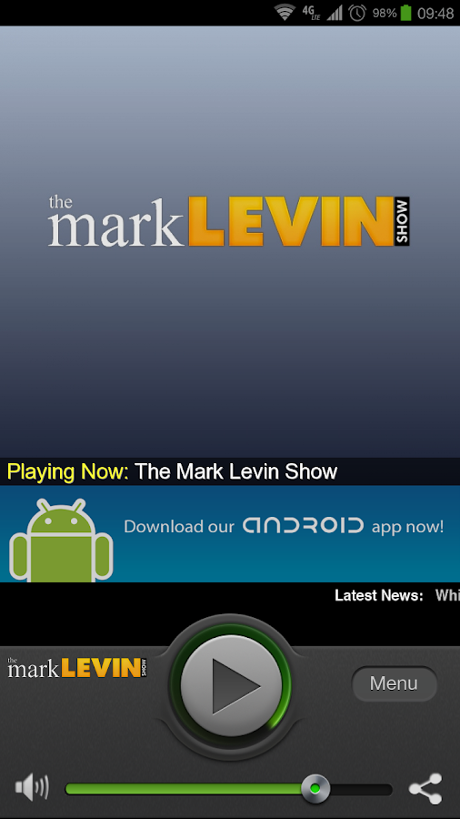 Mark Levin Show - screenshot
