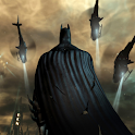 Batman Arkham city Wallpaper logo