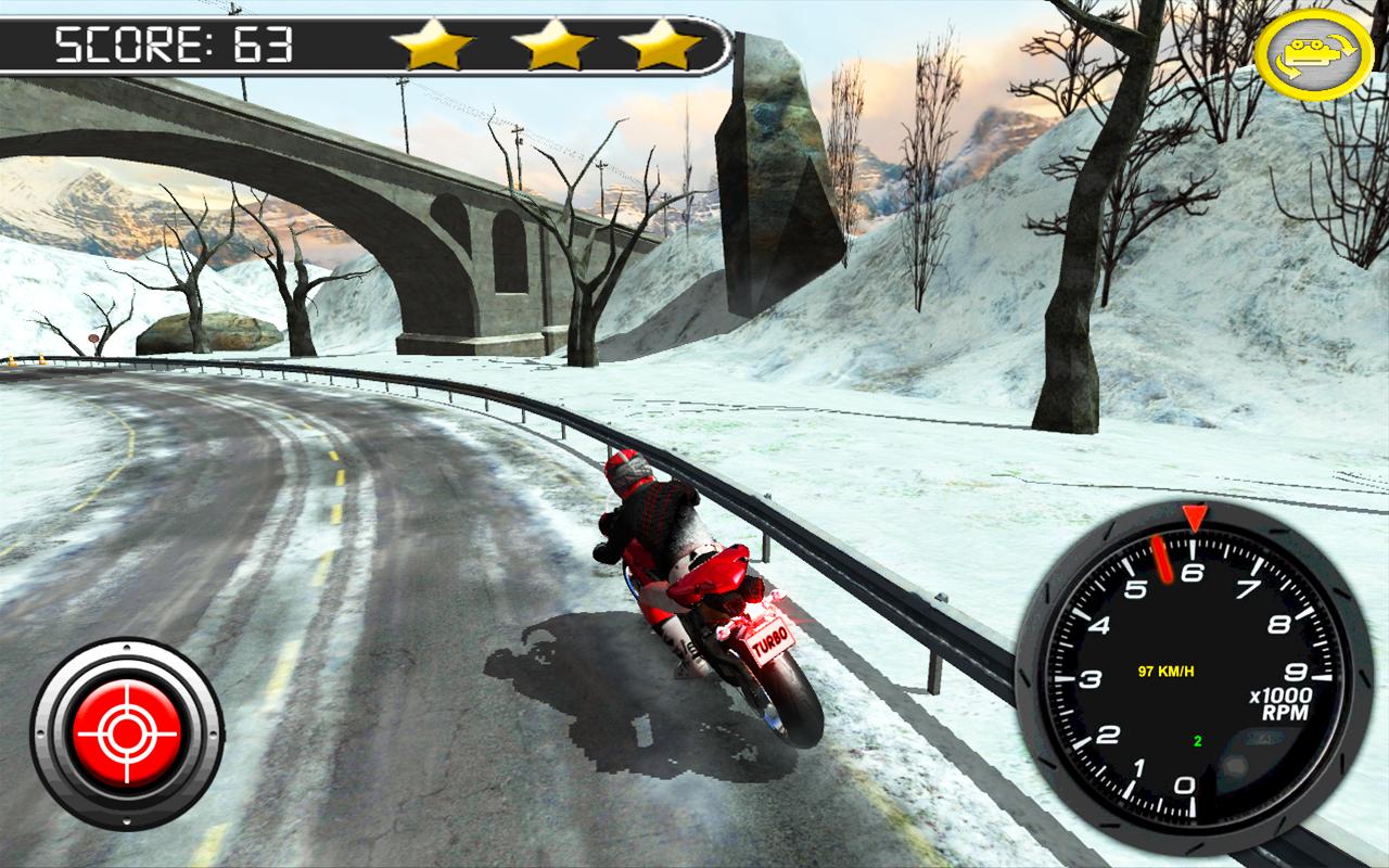 Frozen-Highway-Bike-Rider-VR 14