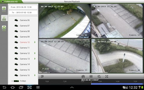 TruVision TVRmobile HD(Tablet)- screenshot thumbnail