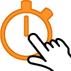 Reaction Game for SmartWatch icon