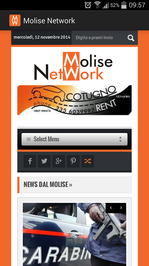 Molise Network- screenshot