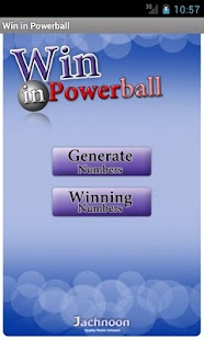 Win in Powerball- screenshot thumbnail