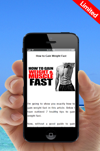 Gain Weight Muscle FAST