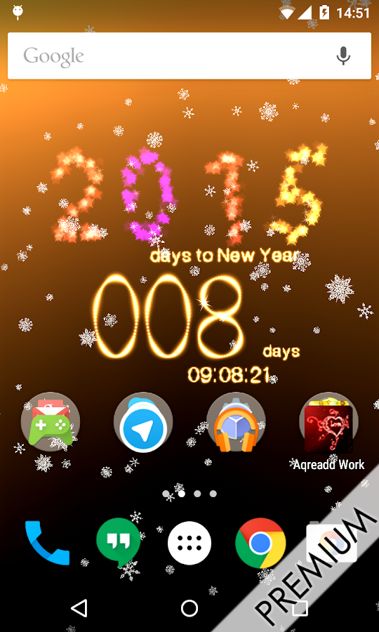 New Years Countdown to 2015 - screenshot