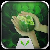 Green leaf Live Locker Theme