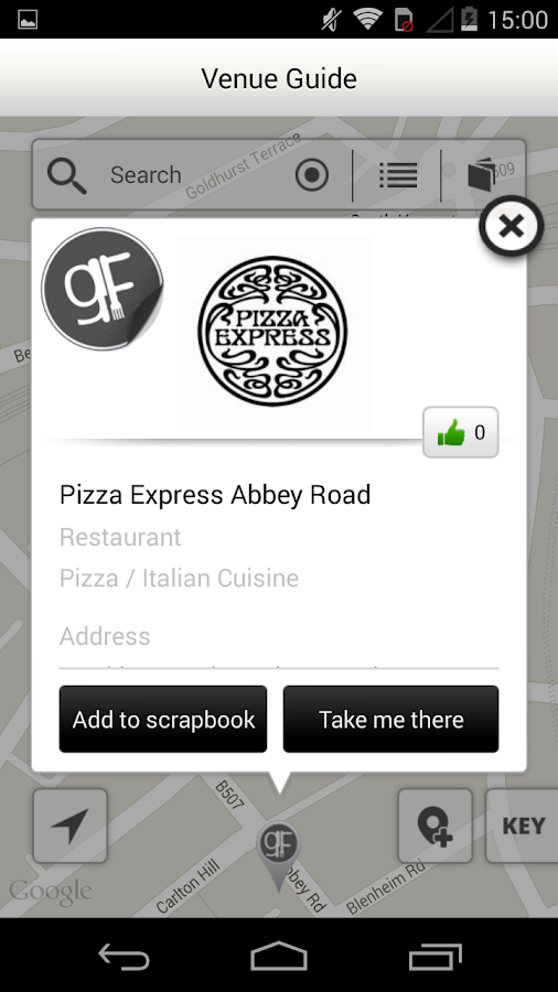 Coeliac UK – Gluten-free app- screenshot