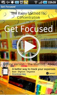 Get Focused! The Rainy Method- screenshot thumbnail