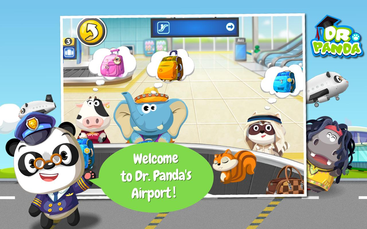 Dr. Panda's Airport- screenshot