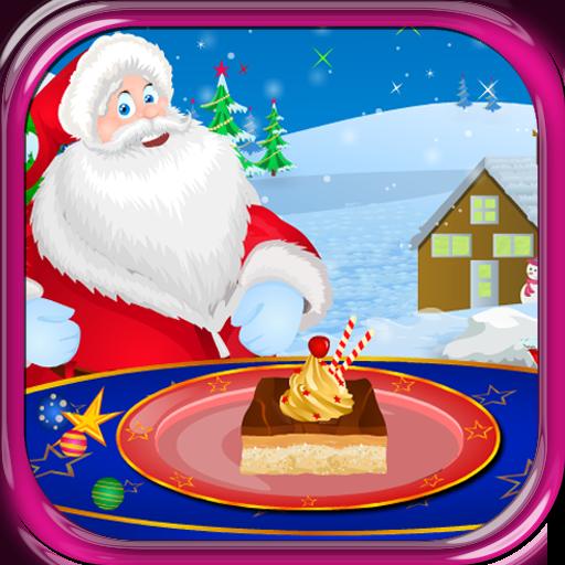 休闲のチョコレートケーキクリスマスゲーム LOGO-記事Game