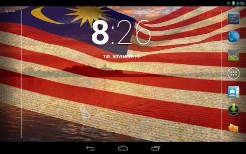 Download 3d malaysia flag lwp apk on pc download android for 3d wallpaper for home malaysia