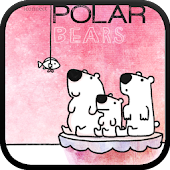 Three polarbear bro go locker