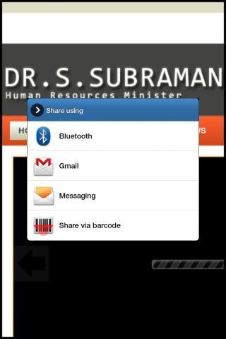 Dr S. Subramaniam Blog - screenshot