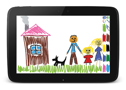 Drawing pad for kids- screenshot thumbnail