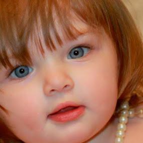 Innocent Pearl by Sabrina Franks - Babies & Children Child Portraits