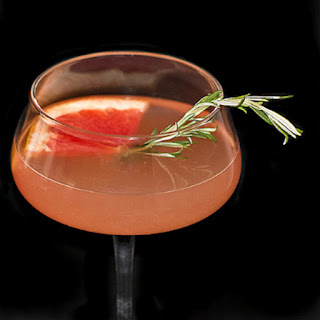 Grapefruit St-Germain Martini.