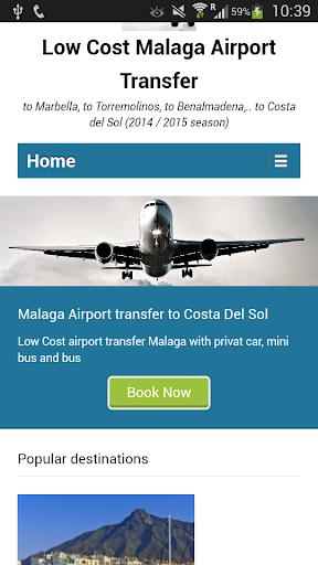 LowCost Malaga AirportTransfer