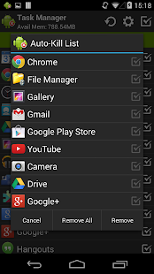 Task Manager (Task Killer) - screenshot thumbnail