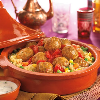 Moroccan Turkey Meatballs.
