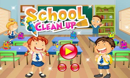 Kids School Clean Up