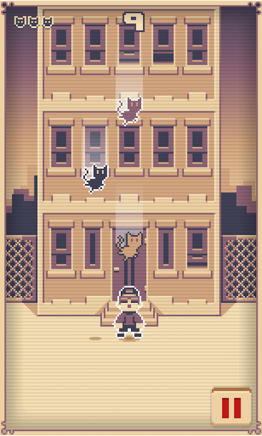 Saving Alley Cats!- screenshot