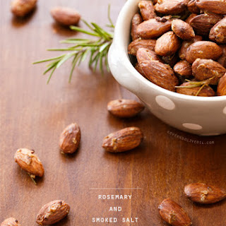 Roasted Almonds with Rosemary and Smoked Salt.